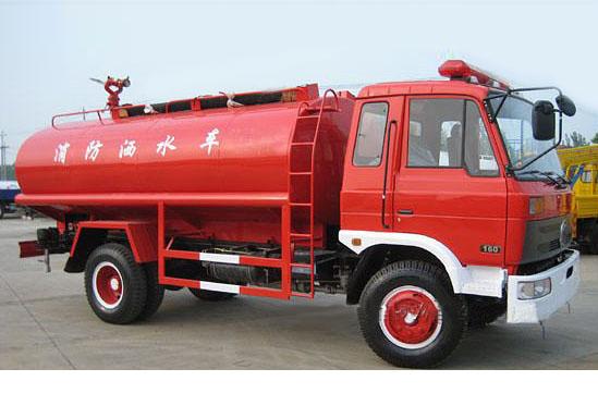 推荐车型三:国五四驱消防洒水车